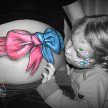 Bellypaint ribbon
